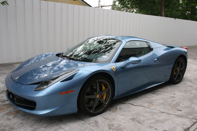2015 Ferrari 458 Italia Spyder Houston, Texas 15