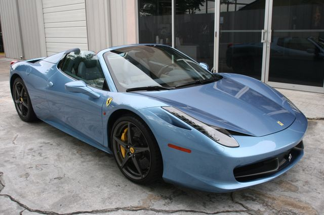 2015 Ferrari 458 Italia Spyder Houston, Texas 2