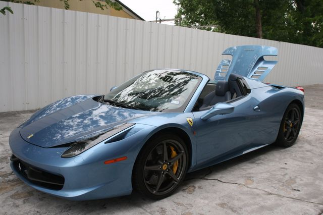 2015 Ferrari 458 Italia Spyder Houston, Texas 34