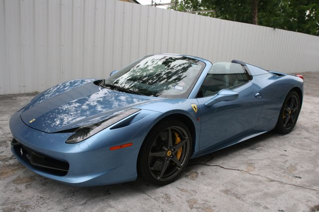 2015 Ferrari 458 Italia Spyder Houston, Texas 5