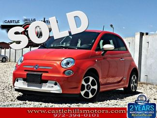 2015 Fiat 500e Battery Electric   Lewisville, Texas   Castle Hills Motors in Lewisville Texas
