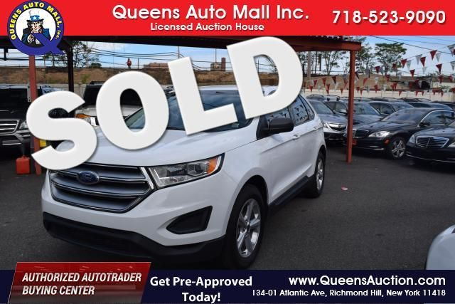 2015 Ford Edge SE Richmond Hill, New York 0