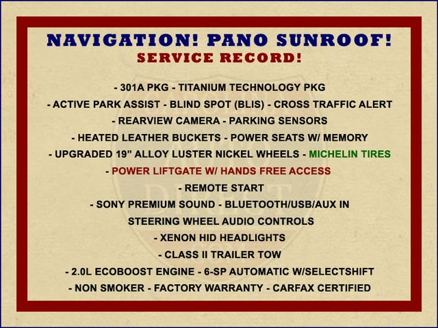 2015 Ford Escape Titanium 4WD - NAVIGATION-SUNROOF-BLIS! Mooresville , NC 1