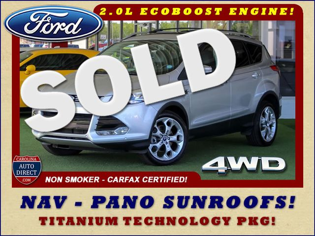 2015 Ford Escape Titanium 4WD - NAVIGATION-SUNROOF-BLIS! Mooresville , NC 0