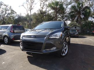 2015 Ford Escape Titanium. 2.0L ECOBOOST. PANORAMIC. NAVIGATION . LEATHER. HTD SEATS SEFFNER, Florida 6