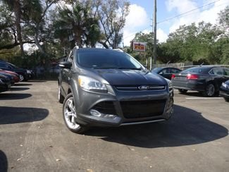 2015 Ford Escape Titanium. 2.0L ECOBOOST. PANORAMIC. NAVIGATION . LEATHER. HTD SEATS SEFFNER, Florida 8