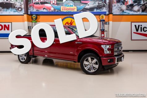 2015 Ford F-150 Platinum 4X4 in Addison