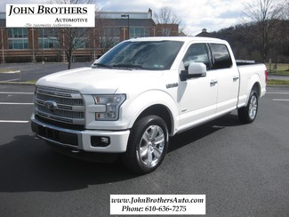 2015 Sold Ford F-150 Platinum Conshohocken, Pennsylvania