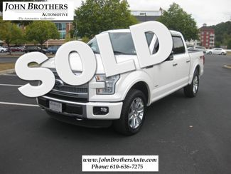 2015 Ford F-150 Platinum Conshohocken, Pennsylvania 0