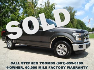 2015 Ford F-150 XLT, 1-OWNER, 5.0L V8, FACTORY WARRANTY in Memphis Tennessee