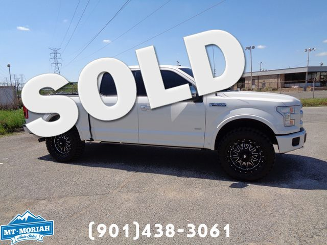 2015 Ford F-150 Platinum in Memphis Tennessee
