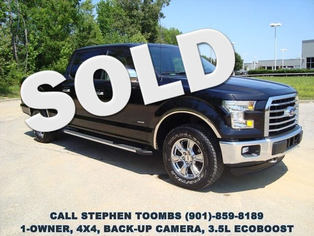 2015 Ford F-150 XLT, 1-OWNER, 4X4, 3.5L ECOBOOST, BACK-UP CAM in Memphis Tennessee