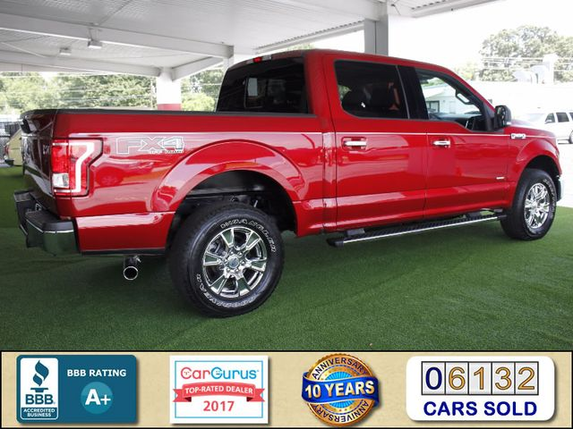 2015 Ford F-150 XLT LUXURY EDITION SuperCrew 4x4 FX4 - LEATHER! Mooresville , NC 2