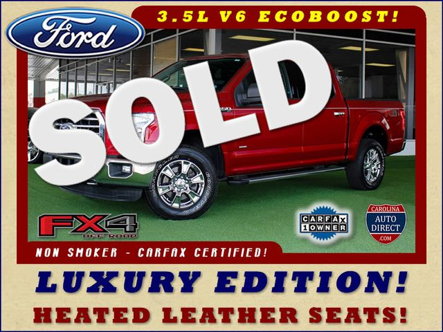 2015 Ford F-150 XLT LUXURY EDITION SuperCrew 4x4 FX4 - LEATHER! Mooresville , NC 0