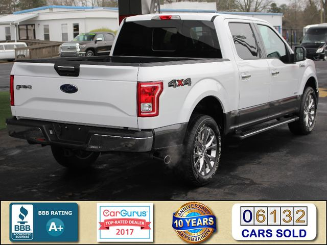 2015 Ford F-150 XLT SuperCrew 4x4 - NAV - HEATED LEATHER! Mooresville , NC 2