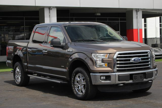 2015 Ford F-150 XLT Crew Cab 4x4 FX4 - HEATED LEATHER! Mooresville , NC 21