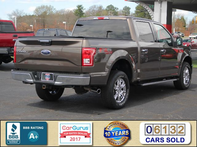 2015 Ford F-150 XLT Crew Cab 4x4 FX4 - HEATED LEATHER! Mooresville , NC 2