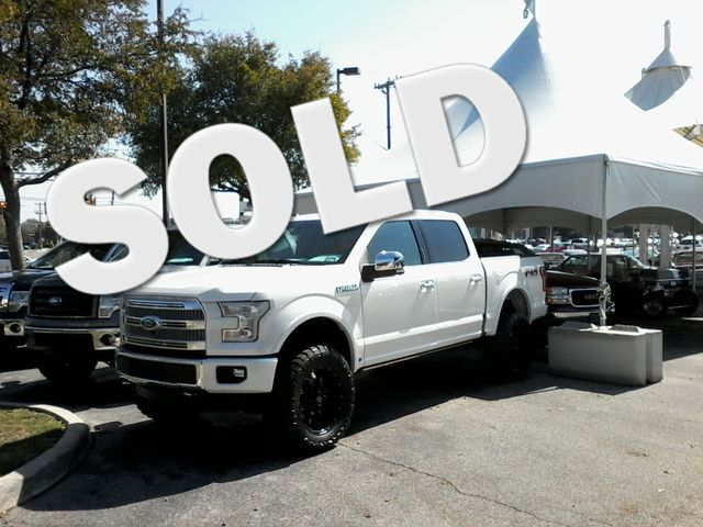 2015 Ford F-150 Platinum San Antonio, Texas 1