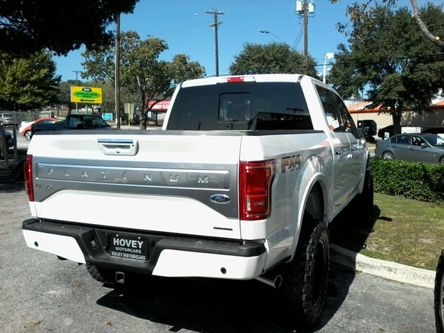 2015 Ford F-150 Platinum San Antonio, Texas 6