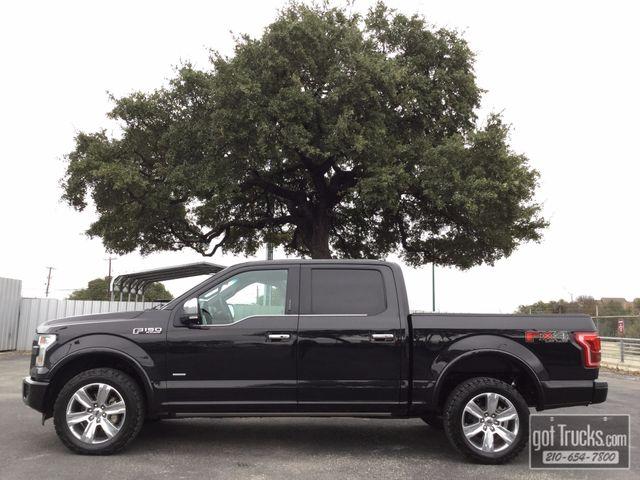 2015 Ford F150 Crew Cab Platinum FX4 3.5L V6 EcoBoost 4X4 | American Auto Brokers San Antonio, TX in San Antonio Texas