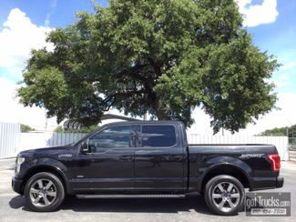 2015 Ford F150 Crew Cab Lariat 3.5L V6 EcoBoost | American Auto Brokers San Antonio, TX in San Antonio Texas