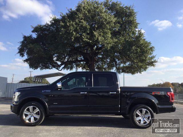 2015 Ford F150 Crew Cab Platinum 3.5L EcoBoost 4X4   American Auto Brokers San Antonio, TX in San Antonio Texas