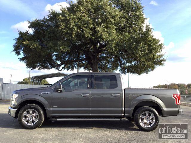 2015 Ford F150 Crew Cab XLT 2.7L EcoBoost   American Auto Brokers San Antonio, TX in San Antonio Texas