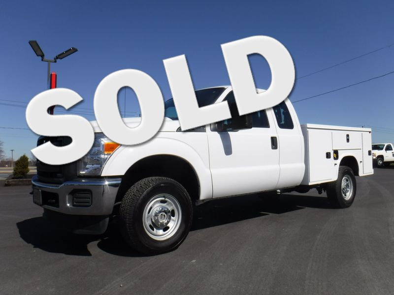 2015 Ford F250 Extended Cab 4x4 with New 8' Knapheide Utility Bed in Ephrata PA