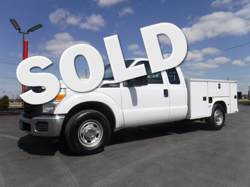 2015 Ford F250 Extended Cab 2wd with New 8' Knapheide Utility Bed in Ephrata PA
