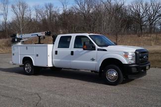 2015 Ford F350 XL - Service Utility Truck w/ Crane - 4WD 6.7L Diesel-[ 2 ]