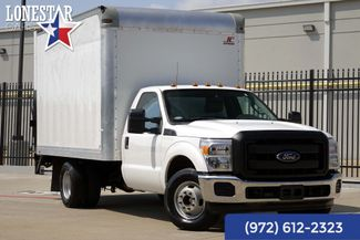 2015 Ford F350SD XL 12' Supreme  Box Truck One Owner Clean Carfax