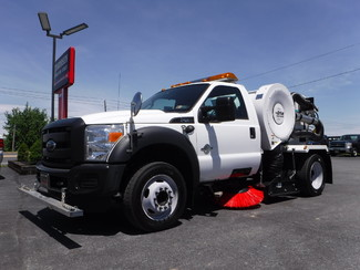2015 Ford F450 Tymco 210h Sweeper in Lancaster, PA PA