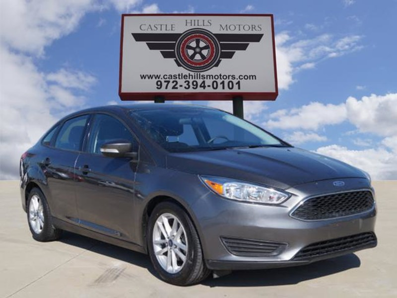 2015 Ford Focus SE - 1-Owner, Backup Camera, Bluetooth, High MPG! in Lewisville Texas