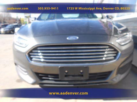 2015 Ford Fusion SE   Denver, CO   A&A Automotive of Denver in Denver, CO