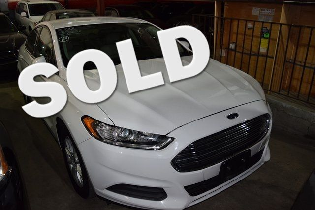 2015 Ford Fusion S Richmond Hill, New York 0