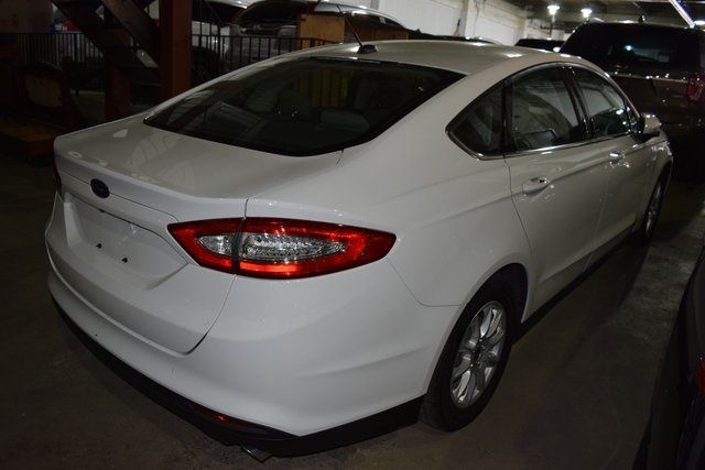 2015 Ford Fusion S Richmond Hill, New York 4