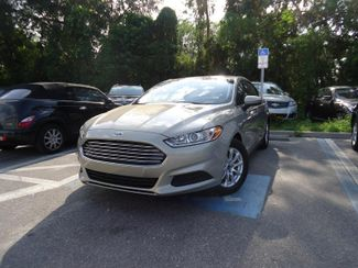 2015 Ford Fusion S SEFFNER, Florida 4