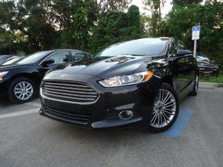 2015 Ford Fusion SE LUXURY. NAVI. SUNRF. LTHR. HTD SEATS. PUSH STRT SEFFNER, Florida
