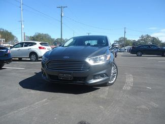 2015 Ford Fusion 2.0T AWD  NAVIGATION. LEATHER. SUNROOF SEFFNER, Florida