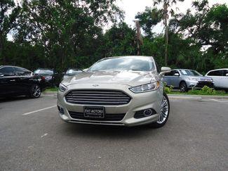 2015 Ford Fusion 2.0 TURBO. LEATHER. NAVI. SUNRF. PREM SOUND SEFFNER, Florida