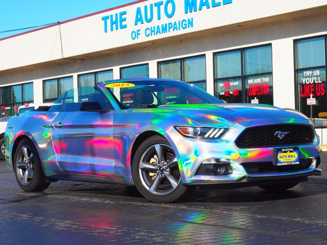 2015 Ford Mustang  | Champaign, Illinois | The Auto Mall of Champaign in Champaign Illinois