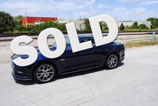 2015 Ford Mustang GT 50 Years Limited Edition Delray Beach, Florida