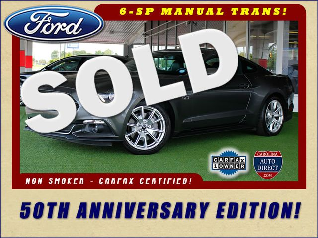 2015 Ford Mustang GT Premium 50TH ANNIVERSARY EDITION - NAVIGATION! Mooresville , NC 0