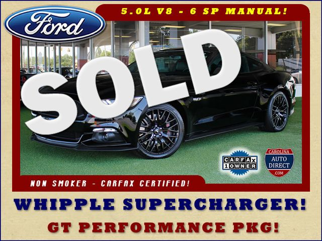 2015 Ford Mustang GT Premium - WHIPPLE SUPERCHARGER! Mooresville , NC 0