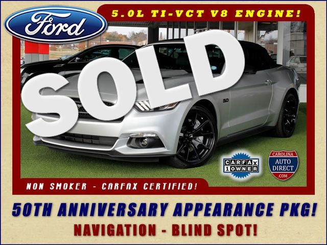 2015 Ford Mustang GT Premium 50TH ANNIVERSARY APPEARANCE PKG - NAV! Mooresville , NC 0