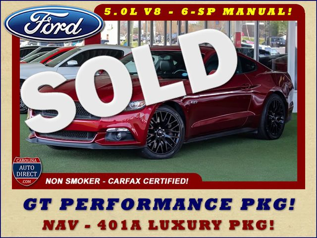 2015 Ford Mustang GT Premium - GT PERFORMANCE PKG! Mooresville , NC 0