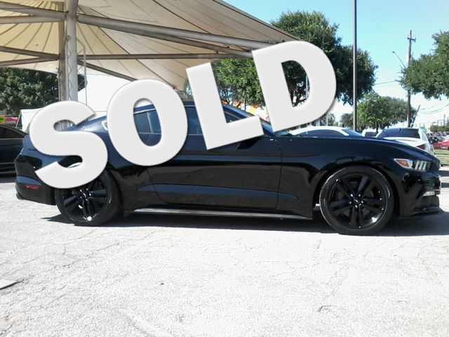 2015 Ford Mustang EcoBoost Premium San Antonio, Texas 0