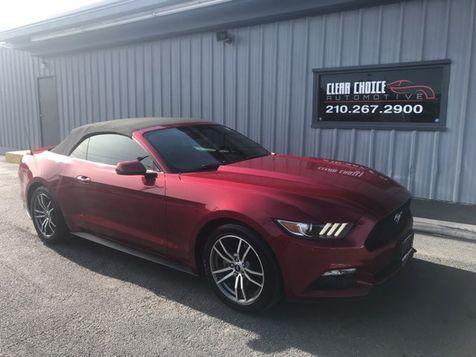 2015 Ford Mustang EcoBoost Premium in San Antonio, TX