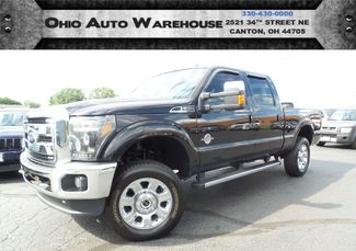 2015 Ford Super Duty F-250 Pickup Lariat 4x4 TurboDiesel CrewCab 1-Own We Finance | Canton, Ohio | Ohio Auto Warehouse LLC in  Ohio