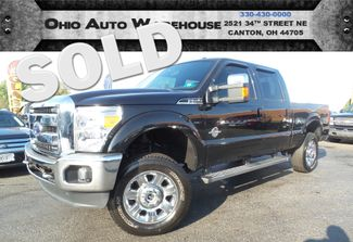 2015 Ford Super Duty F-250 Pickup Lariat 4x4 TurboDiesel CrewCab 1-Own We Finance | Canton, Ohio | Ohio Auto Warehouse LLC in  Ohio